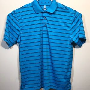PGA TOUR Men's Large 100% Polyester Polo